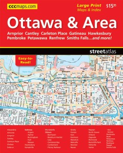 2014 Ottawa-Street Atlas is distributed by MapArt PUblishing Corporation