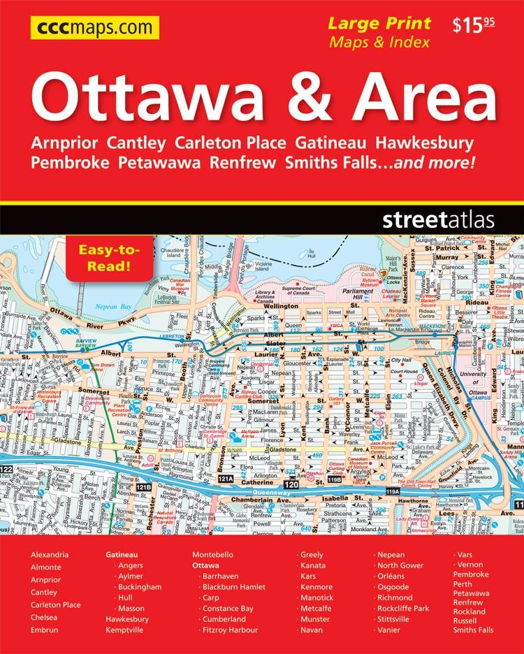 Ontario CCCMapscom Canadas Map Company