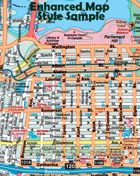 2014 OttawaHull Guide now shipping CCCMapscom Canadas Map Company