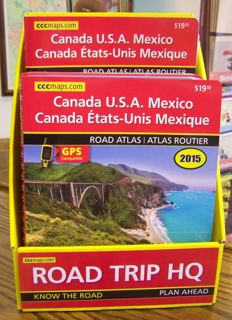 Canada, US and Mexico Road Atlas from CCCmaps.com