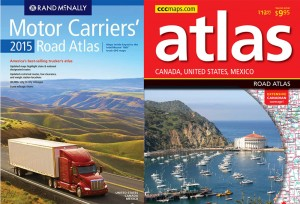 New Road Atlases from CCCmaps.com