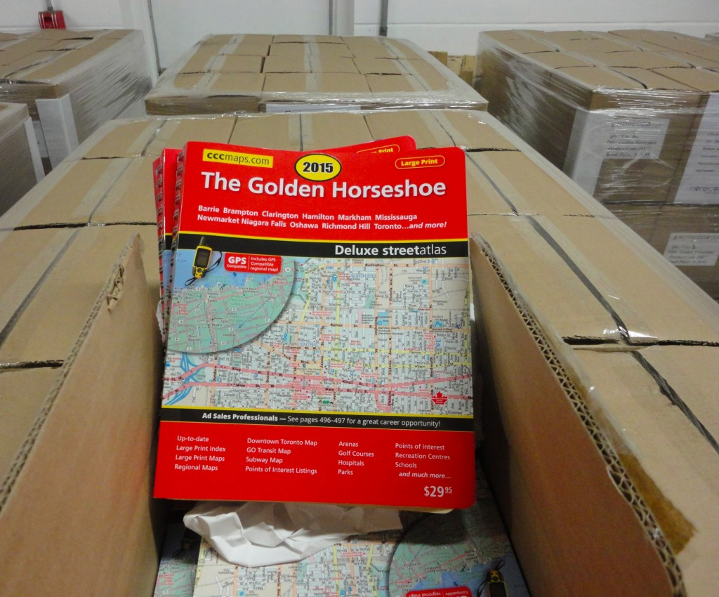 the 2015 CCCmaps Golden Horseshoe Street Guide