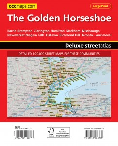 Coverage map for the 2015 Golden Horseshoe Guide