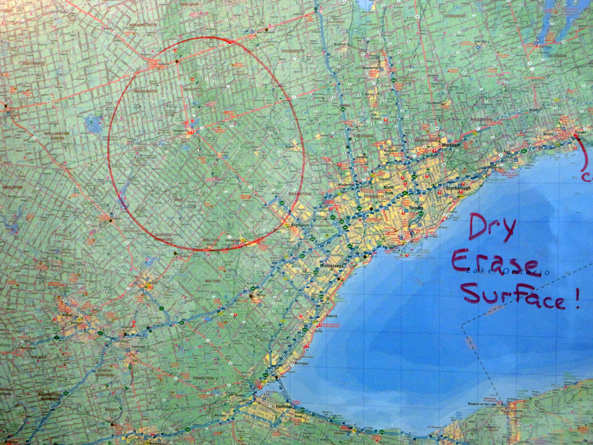 Wall maps cccmaps canadas map company dryerare sciox Images