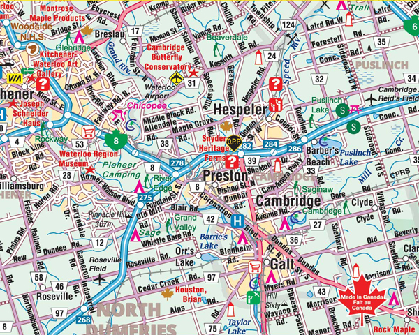 Folding Maps CCCMapscom Canadas Map Company