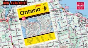 2016 MapArt Ontario Back Road Atlas is now here!