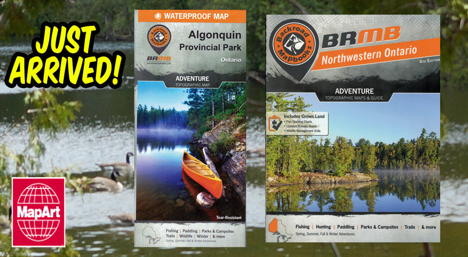 Backroads mapbooks canada 39 s map company for Canadian fishing license bc
