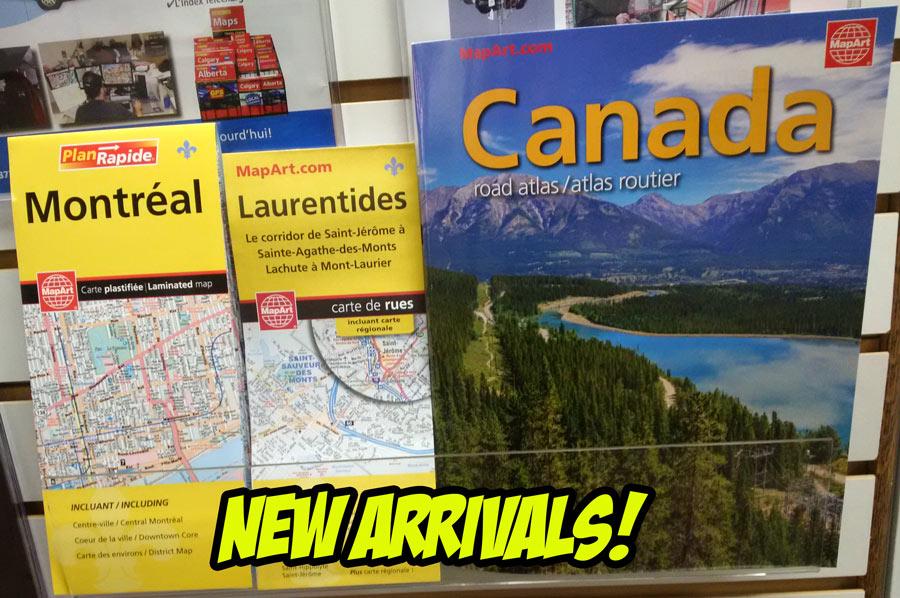 Folding Maps CCCMapscom Canadas Map Company