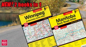 New! Winnipeg Street and Manitoba Road Atlas!