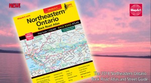 New! Northeastern Ontario Back Road Atlas