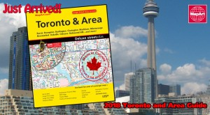 2018 MapArt Toronto & Area Guide is Here!