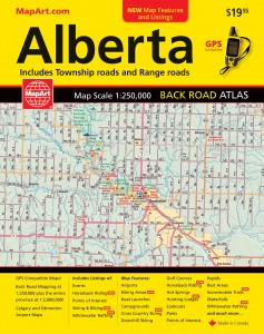 Explore the Range Roads of Alberta with MapArt