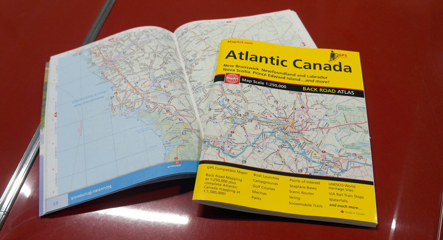 Map Of Canada Roads.Back Roads Cccmaps Com Canada S Map Company